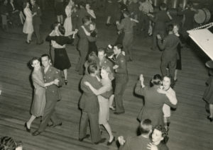 A dance at Rockwell Hall, 1943