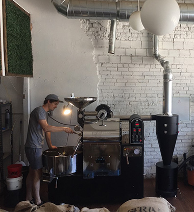 Queen City Collective Coffee has been voted Best New Roaster by Westworld and is getting high marks in Denver.