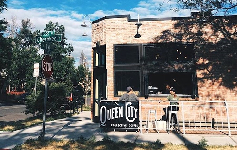 Queen City Collective Coffee in Denver