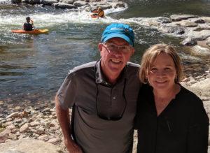 O'Haras at a river
