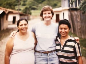 Smith in Honduras while she was in the Peace Corps