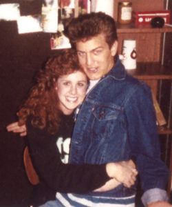 Jennifer and Fred in 1987 web