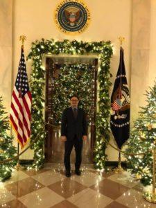 White House Christmas lights