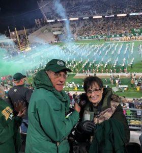 Jan and Len at Canvas Stadium, 2018
