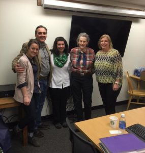 Sara Colorosa with her doctoral dissertation committee