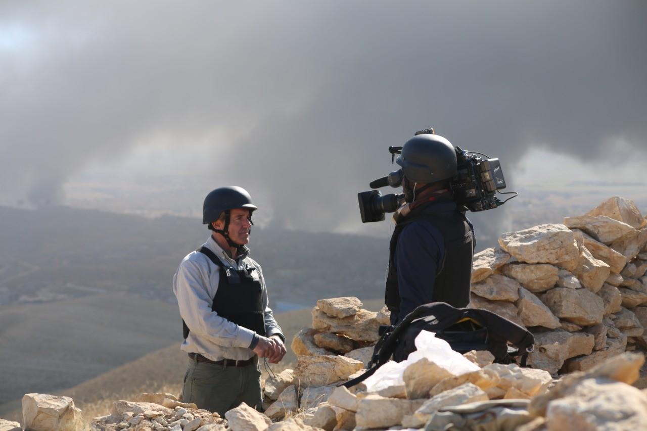 Reporter in Sinjar