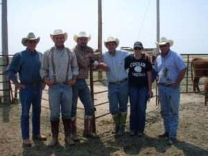 Group photo of ranchers